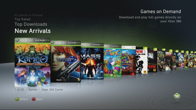 How to download games onto zune.