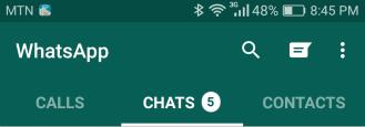 Old WhatsApp